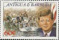 [The 25th Anniversary of the Death of John F. Kennedy, 1917-1963, type SV]