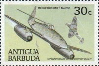 [The 50th Anniversary of the First Jet Flight, type TP]
