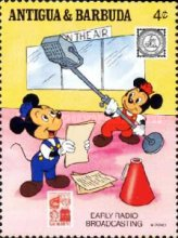 [American Philately Society - Walt Disney Characters, type WA]