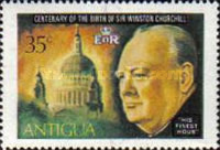 [The 100th Anniversary of the Birth of Winston Spencer Churchill, type HP]