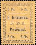 [Medellin Issue - Colored Paper, Typ AQ]