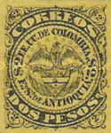 [Coat of Arms of Colombia, Typ P]