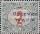 [Hungary Postage Due Stamps Overprinted