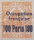 [Hungary Newspaper Stamp Overprinted