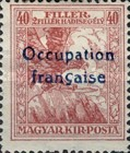 [Hungary Charity Stamps Overprinted