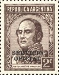 [Postage Stamps of 1935-1951 Overprinted in Black, Typ D1]