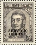 [Postage Stamps of 1935-1951 Overprinted in Black, Typ D2]