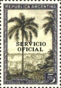 [Regular Issues of 1945 Overprinted - 12mm in Lenght, Typ E11]