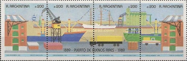 [The 100th Anniversary of the Buenos Aires Port, type ]