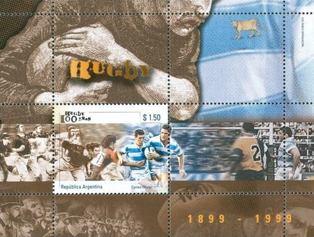 [The 100th Anniversary of the Argentine Rugby union, Typ ]