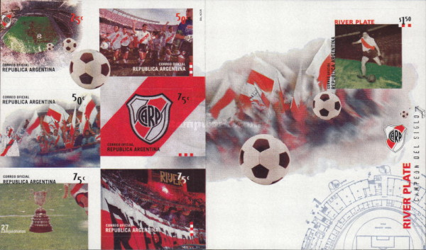 [Argentine Football Teams - River Plate - Self Adhesive, Typ ]