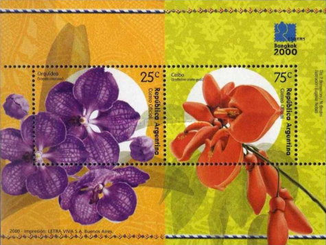 [International Stamp Exhibition BANGKOK 2000 - Plants, type ]