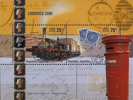 [International Stamp Exhibition THE STAMP SHOW 2000 - London, UK, type ]