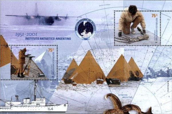 [The 50th Anniversary of the Argentine Antarctic Institute, Typ ]