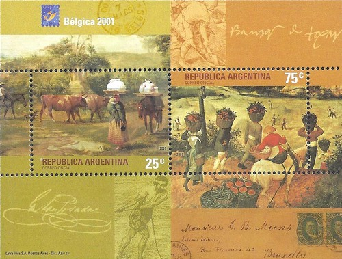 [International Stamp Exhibition BELGICA 2001 - Brussels, Belgium - The 500th Anniversary of the European Postal Service, Typ ]