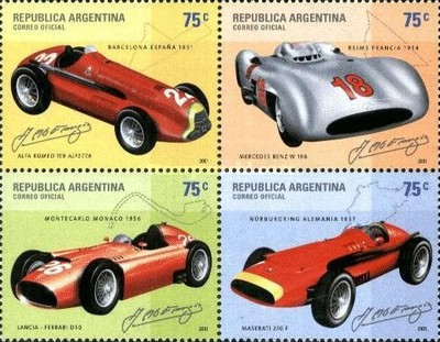 [Formula One Racing Cars driven by Juan Manuel Fangio, Typ ]