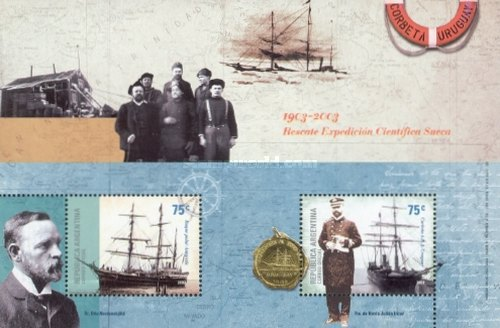 [Argentine Antarctica - The 100th Anniversary of the Rescue of the Swedish Scientific Expedition by the Corvette A.R.A. Uruguay, Typ ]