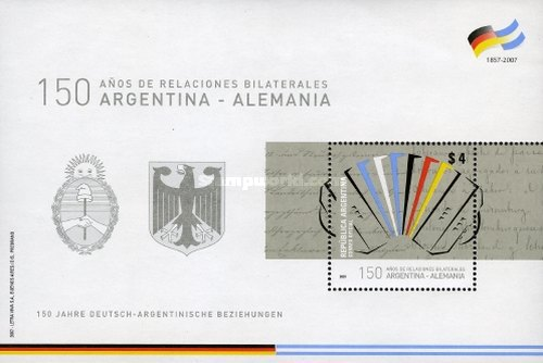 [Argentine-Germany - The 150th Anniversary of Bilateral Relations, Typ ]