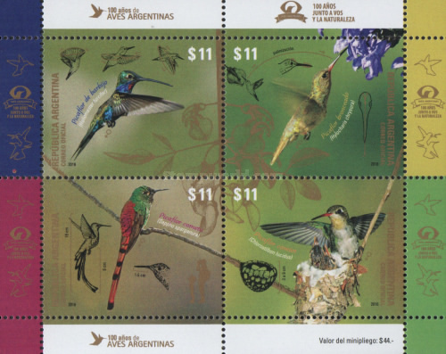 [Birds - The 100th Anniversary of Aves Argentinas, Typ ]
