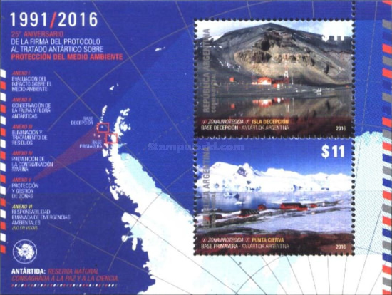 [The 25th Anniversary of the Antarctic Treaty, Typ ]