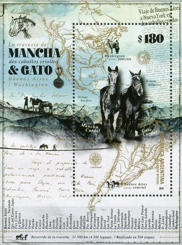 [Mancha & Gato - Journey by Horse from Buenos Aires to Washington DC, type ]