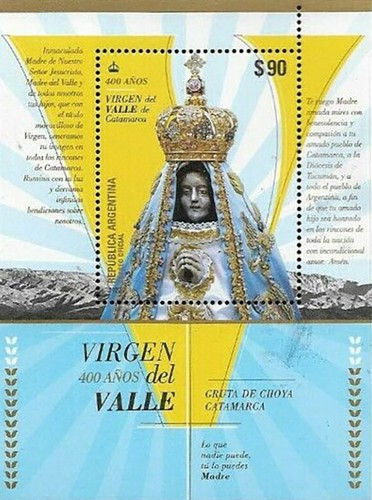 [The 400th Anniversary of the Apparition of the Virgin of Catamarca Valley, Typ ]
