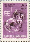 [St. Martin of Tours, patron saint of Buenos Aires, Typ AAE]
