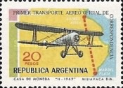 [The 50th Anniversary of the First Argentine Airmail Service, Typ ABC]