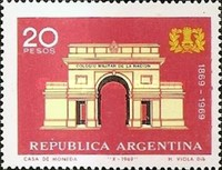 [The 100th Anniversary of the Argentine Military College, Typ ABF]