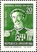 [The 100th Anniversary of the Death of General Angel Pacheco, Typ ABI]