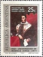 [The 150th Anniversary of the Buenos Aires University, Typ ADZ]