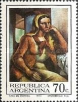 [Day of the Stamp - Argentine Paintings, Typ AFT]
