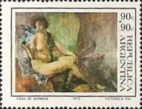 [Day of the Stamp - Argentine Paintings, Typ AFU]