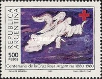 [The 100th Anniversary of the Argentinian Red Cross, Typ ARN]