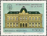 [The 75th Anniversary of the La Plata University, Typ ASP]