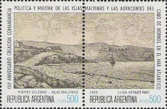 [The 75th Anniversary of the Argentine Presence in South Orkneys & the 150th Anniversary of the Political and Military Command for the Malvinas, Typ ATD]