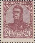 [General San Martin - Watermark 3,4 or Unwatermarked, Typ BK12]