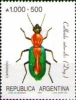 [Argentine Philately, Insects, type BOF]