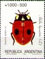 [Argentine Philately, Insects, type BOG]