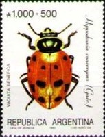 [Argentine Philately, Insects, type BOH]