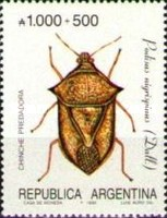 [Argentine Philately, Insects, type BOJ]