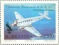 [Airmail - The 50th Anniversary of LADE, Airline, type BOU]