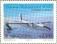 [Airmail - The 50th Anniversary of LADE, Airline, type BOV]