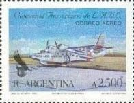 [Airmail - The 50th Anniversary of LADE, Airline, type BOW]