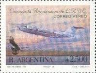 [Airmail - The 50th Anniversary of LADE, Airline, type BOX]