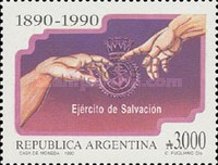 [The 100th Anniversary of the Salvation Army in Argentina and National University of the Littoral, Typ BPW]