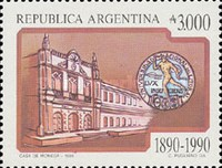 [The 100th Anniversary of the Salvation Army in Argentina and National University of the Littoral, Typ BPX]
