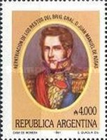 [Return of Remains of the Brigadier General Juan Manuel de Rosas, Typ BQI]