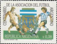 [The 100th Anniversary of the Argentine Football Association, Typ BTR]