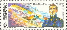 [The 75th Anniversary of the First Flight over the Andes, Typ BUA]